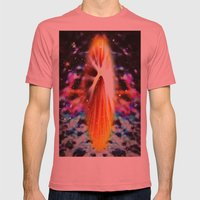 Star Soul Mens Fitted Tee Pomegranate SMALL