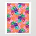 Heidi Tropical Art Print