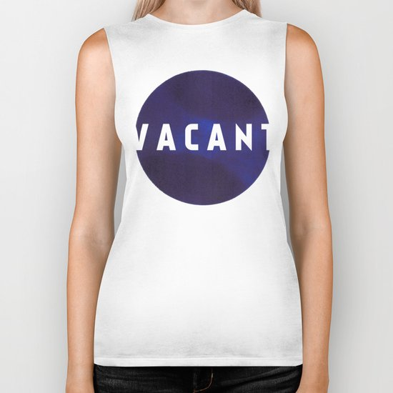 Vacant by Galaxy Eyes & Garima Dhawan Biker Tank