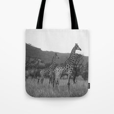Kaleidoscope of Giraffes Tote Bag