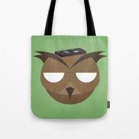 Remote Owl Tote Bag
