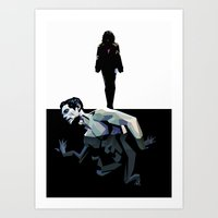 Skin Deep (Under the Skin) Art Print