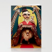 Uncle Edgar and the Hybrid Circus Stationery Cards