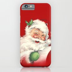 Vintage Santa iPhone 6 Slim Case