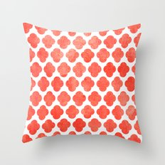 Moroccan Blush  Throw Pillow