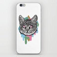 DRIPPY CAT iPhone & iPod Skin