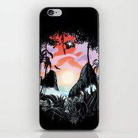 Black Orchid iPhone & iPod Skin