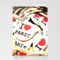 I Love Paris Stationery Cards