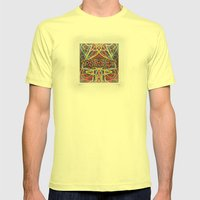 Popouoi Knox Mens Fitted Tee Lemon SMALL
