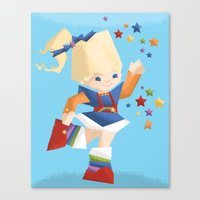 Rainbow Brite Canvas Print