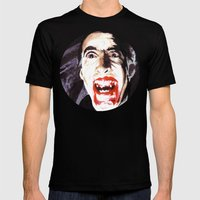 The Horror of Dracula Mens Fitted Tee Black SMALL