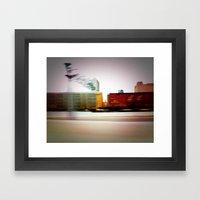 TRAIN SONG Framed Art Print