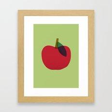 Apple 02 Framed Art Print