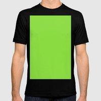 Kiwi Mens Fitted Tee Black SMALL