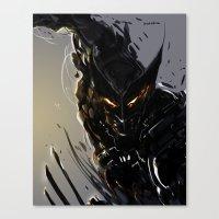 Darkblade Wolverine Canvas Print