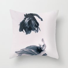 Fading Away II Throw Pillow