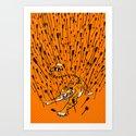 T-Minus... Art Print