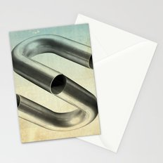 impossible tubes Stationery Cards