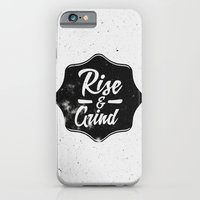 Rise And Grind iPhone 6 Slim Case