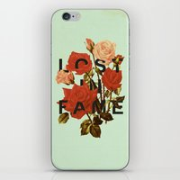 Lost In Fame iPhone & iPod Skin