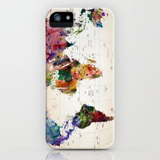 map iPhone (5, 5s) Slim Case