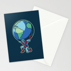 The Weight of the World Stationery Cards