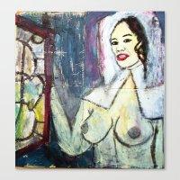 VERMEERED ASIAN MILK MAI… Canvas Print