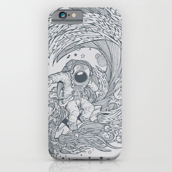 I only surf on Comets iPhone & iPod Case