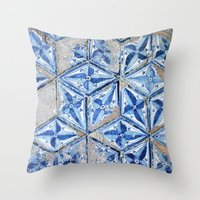 Tiling With Pattern Throw Pillow
