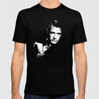 Cary Grant Mens Fitted Tee Black SMALL