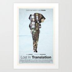 Lost In Translation Art Print