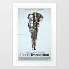 Lost In Translation Art Print