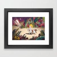 Astray Framed Art Print