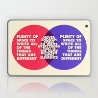 The Problem With Venn Diagrams Laptop & iPad Skin