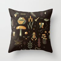 Throw Pillow featuring Countrylife #3 — Night by Andrea Manzati