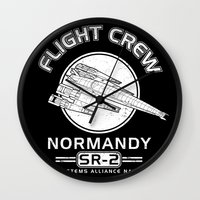 Normandy Flight Crew Wall Clock