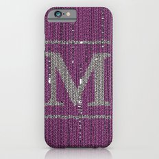 Winter clothes II. Letter M iPhone 6 Slim Case