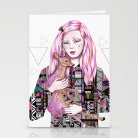 EMBRACE By Kris Tate And… Stationery Cards