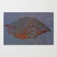 Autum Leaf Canvas Print
