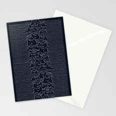 Furr Division Cats (Dark Blue) Stationery Cards