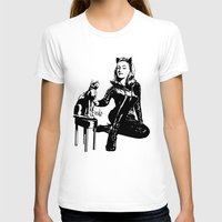 Cat-tastic Womens Fitted Tee White SMALL