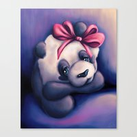 Little Dreamer Canvas Print