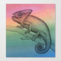 Chameleon (3) Canvas Print