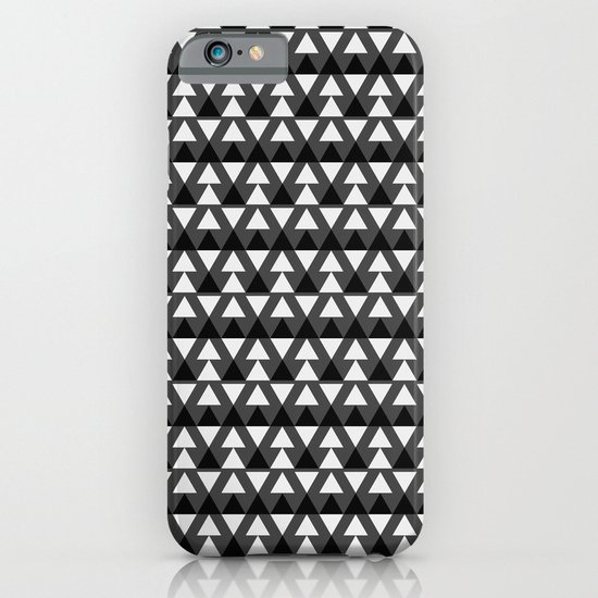 Black & White Triangles iPhone & iPod Case