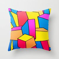 - summer Stadt - Throw Pillow