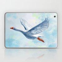 White Goose Laptop & iPad Skin