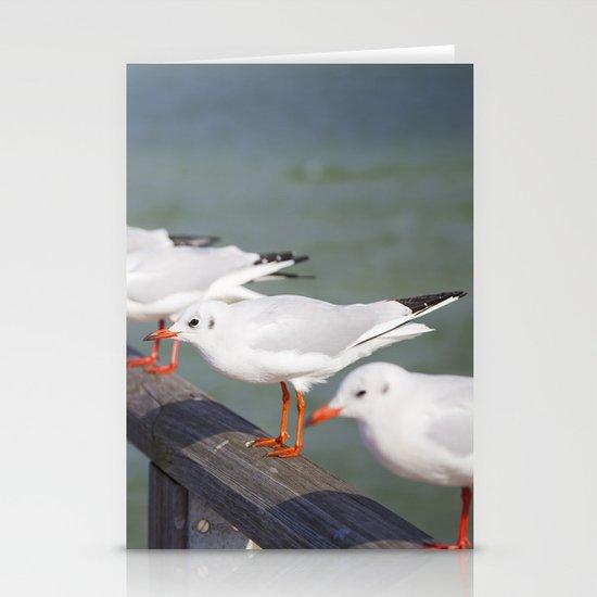 Seagulls II Stationery Card