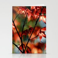 Flora In Flame Stationery Cards