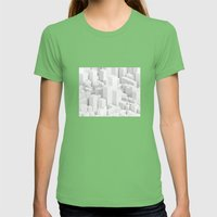 Metropolis Womens Fitted Tee Grass SMALL