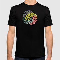 Undertow Mens Fitted Tee Black SMALL
